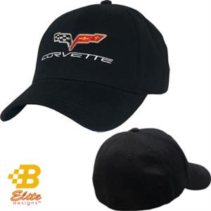 Corvette C6 Cap Black