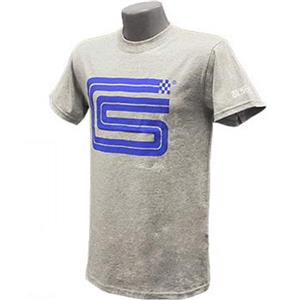 Carroll Shelby Signature Logo T-Shirt Grey 2X-LARGE