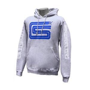Carroll Shelby Logo Hoodie Grey 3X-LARGE