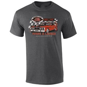 Ford GTHO Phase III Legend T-Shirt Grey LARGE