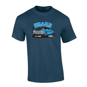 Ford GTHO Phase III Shake Rattle And Roll T-Shirt Navy LARGE