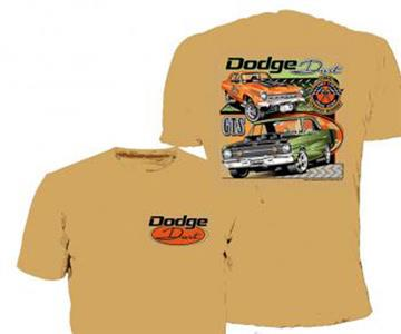 Dodge Dart T-Shirt Gold LARGE