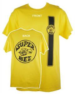 Dodge Super Bee T-Shirt Yellow LARGE