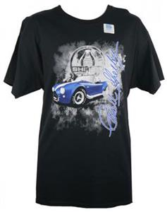 Shelby Burn Out T-Shirt Black LARGE