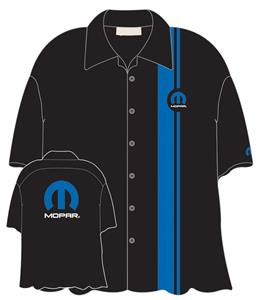 Mopar M Logo Crew Shirt Black X-LARGE