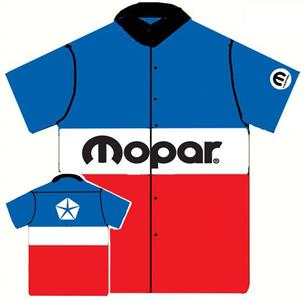 Mopar 1972 Colours Crew Shirt LARGE