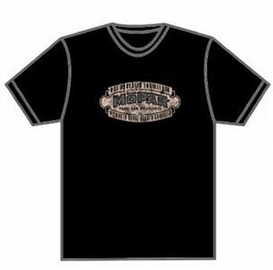 Mopar 1937 Logo T-Shirt Black LARGE