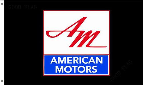 American Motors Flag Black 150x90cm