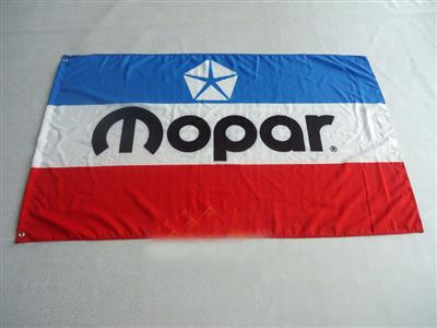 Mopar Pentastar Flag Red/White/Blue150x90cm