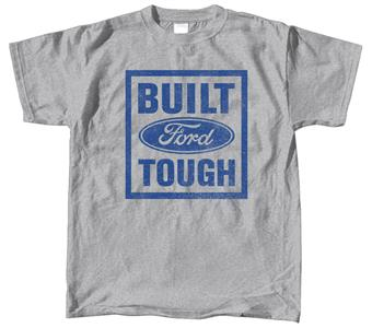 Ford Built Tough T-Shirt Grey 2X-LARGE
