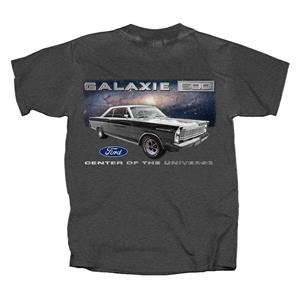 Ford Galaxie 500 Center Of The Universe T-Shirt Grey MEDIUM