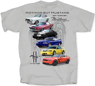 Nothing But Mustang T-Shirt Grey MEDIUM