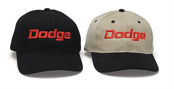 Dodge Cap Black