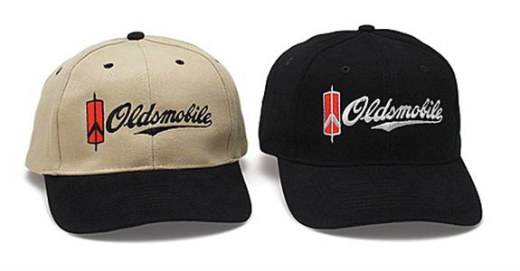 Oldsmobile Logo Cap Tan/Black