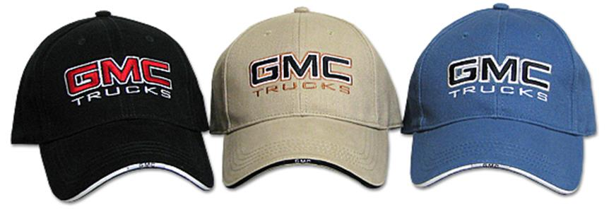 GMC Trucks Cap Black