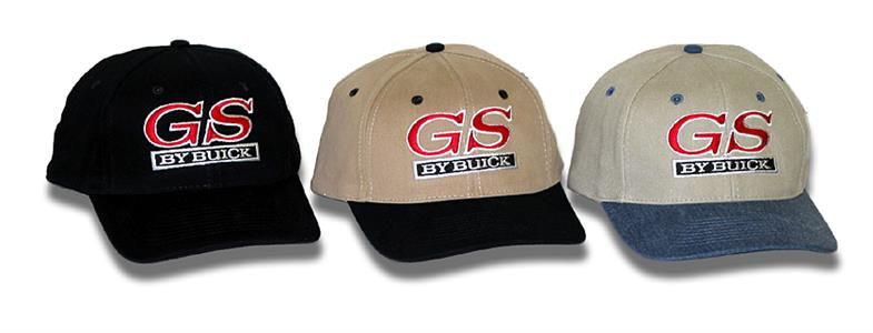GS By Buick Cap Khaki & Black