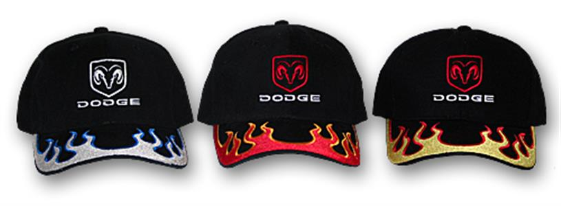 Dodge Ram Inferno Cap Black & Red
