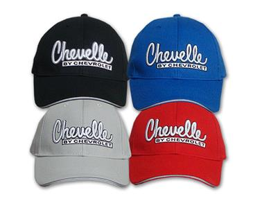 Chevelle By Chevrolet Cap Black