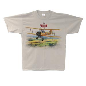 Tiger Moth T-Shirt Sand SMALL