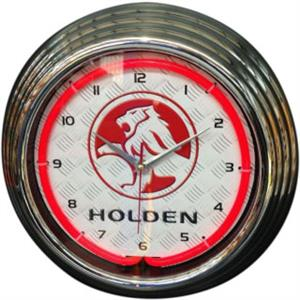 Holden Neon Clock