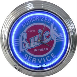 Authorized Buick Service Neon Clock