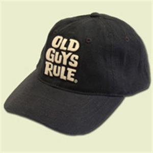 Old Guys Rule Stacked Logo - Aged To Perfection Cap Grey