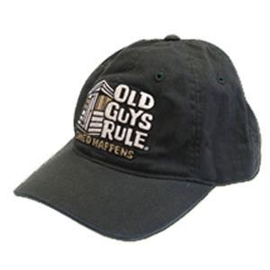 Old Guys Rule Shed Happens Cap Grey/Green