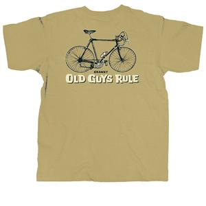 Old Guys Rule - Cranky T-Shirt Bronze 2X-Large
