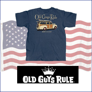 Old Guys Rule T-Shirts