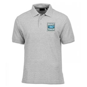 Bult Ford Tough Polo Shirt Light Grey MEDIUM