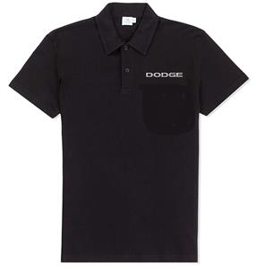 Dodge Logo Polo Shirt Black SMALL