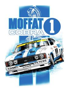 Allan Moffat Ford Falcon XC Cobra T-Shirt White MEDIUM