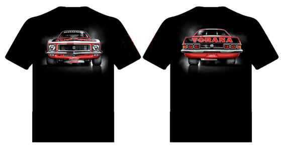 Brock Torana XU1 T-Shirt Black 3X-LARGE