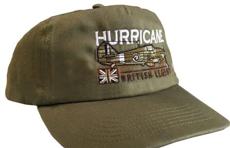 Hurricane British Legend Cap Green