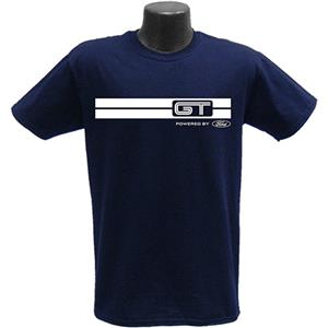 GT Powered By Ford T-Shirt Navy Blue LARGE