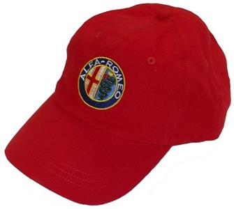 Alfa Romeo Cap Red