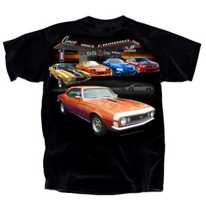 Camaro Gas Station T-Shirt Black 3X-LARGE