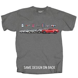 Chevrolet Camaro Logos Band T-Shirt Grey 2X-LARGE DUE LATE 2018