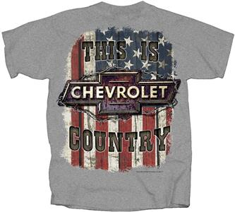 This Is Chevrolet Country T-Shirt Grey X-LARGE