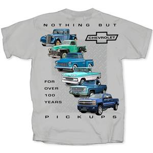 Nothing But Chevrolet Pickups T-Shirt Grey 3X-LARGE