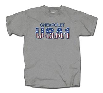 Chevrolet USA-1 T-Shirt Grey 3X-LARGE