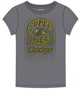 Dodge Super Bee FD T-Shirt Grey LARGE