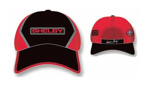 Shelby Logo Cap Red/Black