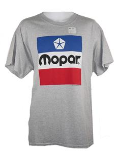 Mopar 1972 Logo T-Shirt Grey LARGE