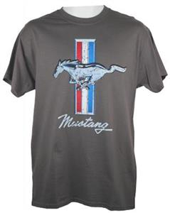 Ford Mustang FD T-Shirt Grey SMALL