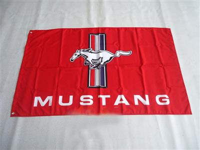 Mustang Flag Red 150x90cm