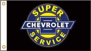 Super Chevrolet Service Flag 150x90cm