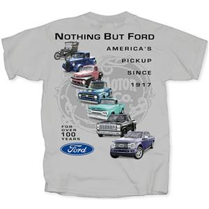 Nothing But Ford - Americas Pickup Since 1917 T-Shirt Grey 3X-LARGE