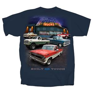 Ford Truck Showroom T-Shirt Blue 3X-LARGE