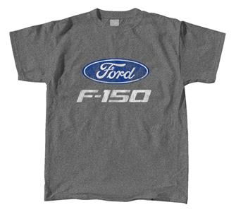 Ford F-150 Truck Logo T-Shirt Grey 3X-LARGE